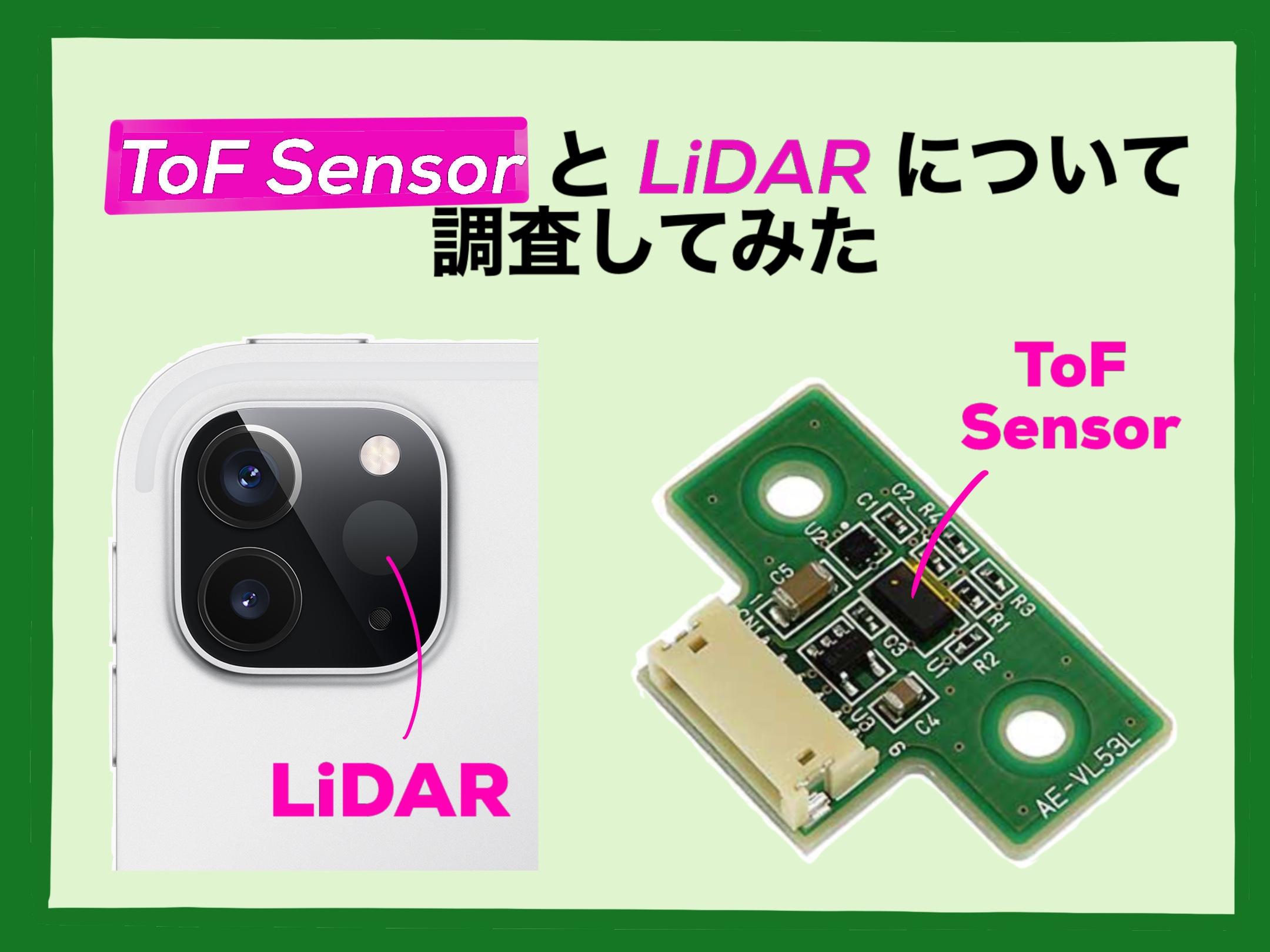 ToF and Lidar